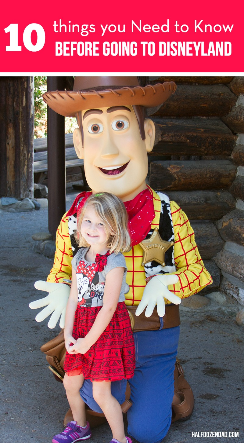 10 Things you Need to know before visiting Disneyland - Great tips, especially for larger families or families on a budget.